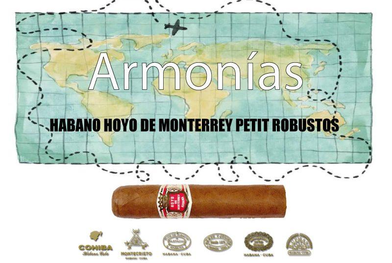 HABANO-HOYO-DE-MONTERREY-PETIT-ROBUSTOS-CON-EL-WHISKY-BLENDED-DE-LUXE-CHIVAS-REGAL-25-AÑOS