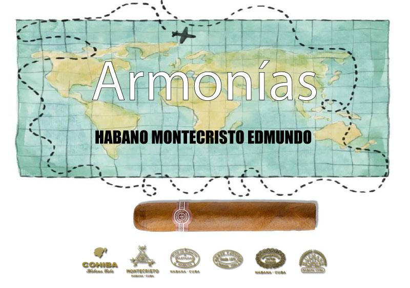 HABANO-MONTECRISTO-EDMUNDO-CON-EL-WHISKY-BLENDED-DE-LUXE-JAPONÉS-HIBIKI-17-AÑOS