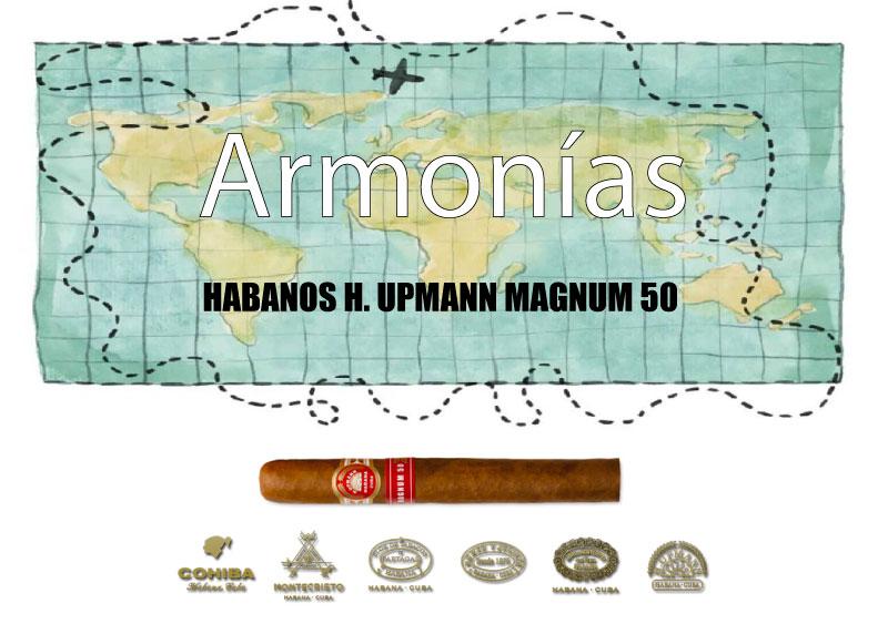 HABANOS-H.-UPMANN-MAGNUM-50-CON-EL-WHISKY-SINGLE-GLENFIDDICH-RESEREVA-RUN-CASK-FINISH-21-AÑOS